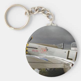 "P51 Mustang ""Little Devil"" X Key Ring"