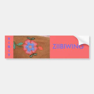P9030010, Visit ZIIBIWING - Bumper Sticker Car Bumper Sticker