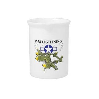 p-38 lightning pitcher