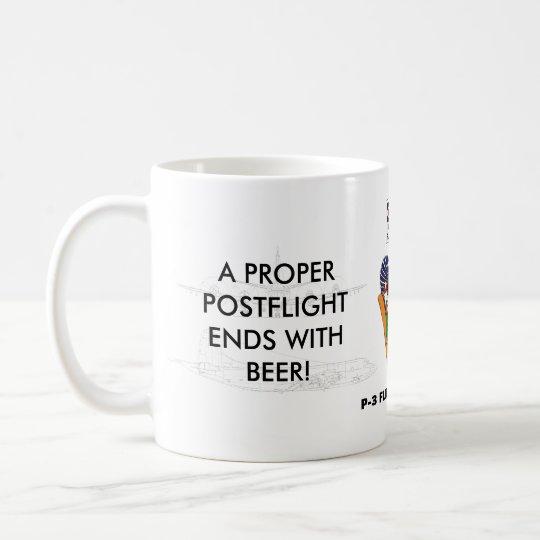 P-3 FE Preflight/Postflight Mug