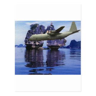 P-3 Orion Over Viet Nam Postcard