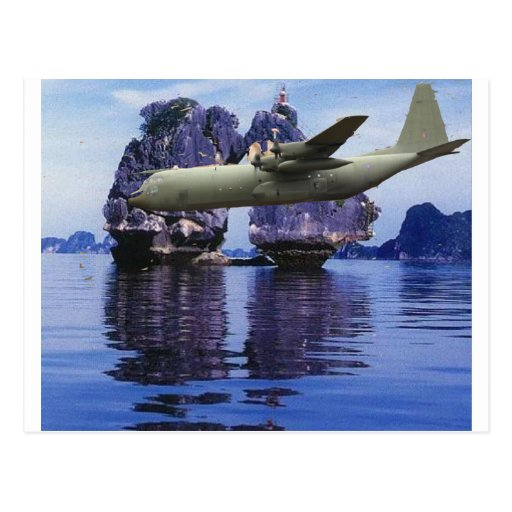 P-3 Orion Over Viet Nam Postcards