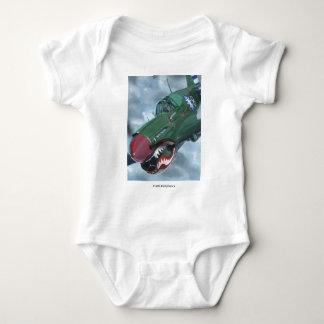 P-40 Kittyhawk Baby Bodysuit