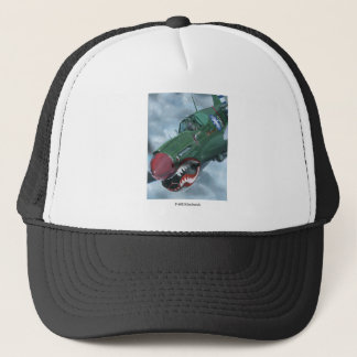 P-40 Kittyhawk Trucker Hat