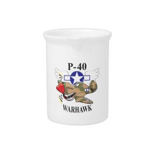 p-40 warhawk pitcher