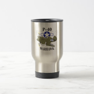 p-40 warhawk travel mug