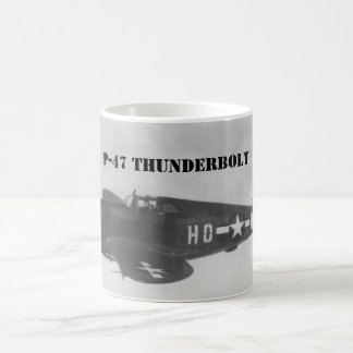 "P-47 "" Thunderbolt "" 1944 Coffee Mug"