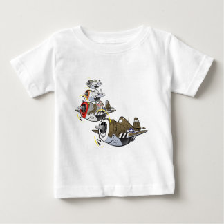 P-47 thunderbolt in formation baby T-Shirt