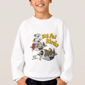 P-47 thunderbolt in formation sweatshirt
