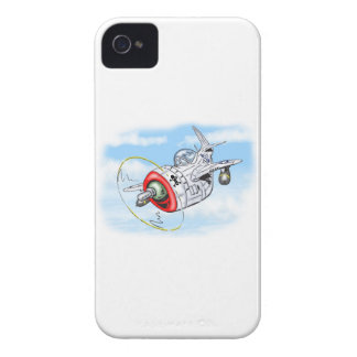 p-47 - THUNDERBOLT iPhone 4 Covers