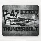 P-47 Thunderbolt Mouse Mat
