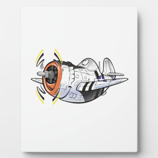 P-47 thunderbolt plaque