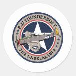 P-47 Thunderbolt Sticker