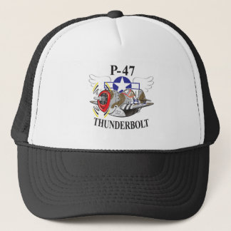 P-47 thunderbolt trucker hat