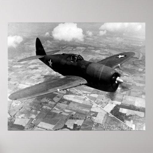 P-47D Thunderbolt Poster