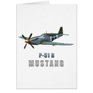 P-51 B Mustang Cards