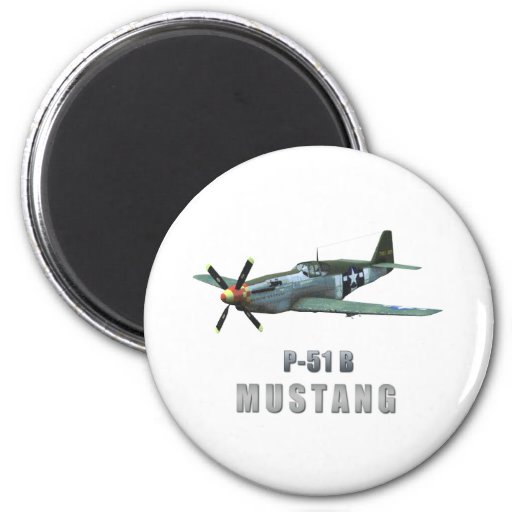 P-51 B Mustang Magnets