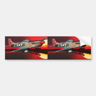 p-51 Mustang Bumper Stickers