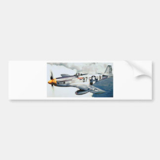 P-51 MUSTANG BUMPER STICKERS