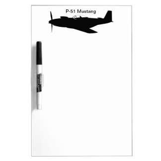 P-51 Mustang Dry-Erase Boards