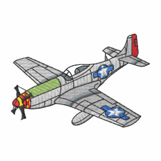 P-51 Mustang Embroidered Hoodie