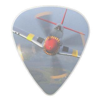 P-51 Mustang Fighter Aircraft Acetal Guitar Pick