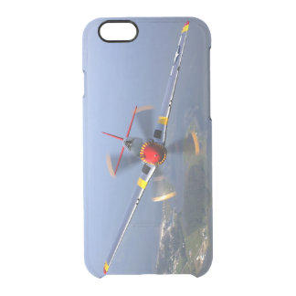P-51 Mustang Fighter Aircraft Clear iPhone 6/6S Case
