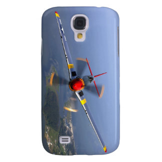P-51 Mustang Fighter Aircraft Galaxy S4 Case