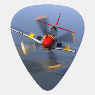 P-51 Mustang Fighter Aircraft Guitar Pick