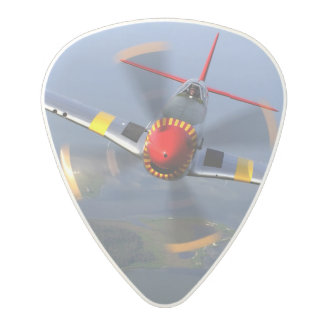 P-51 Mustang Fighter Aircraft Polycarbonate Guitar Pick