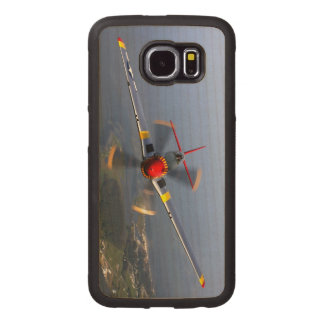 P-51 Mustang Fighter Aircraft Wood Phone Case