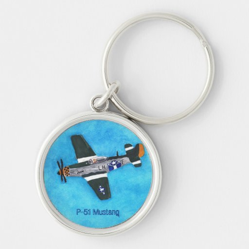 P-51 Mustang Keychain