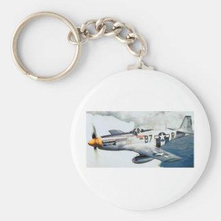 P-51 MUSTANG KEY RING