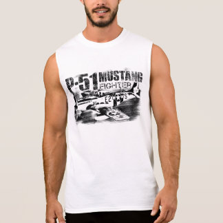 P-51 Mustang Men's Ultra Cotton Sleeveless T-Shirt