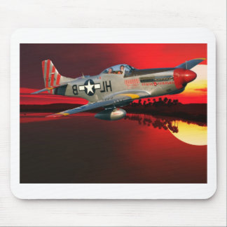 P-51 MUSTANG MOUSE PAD