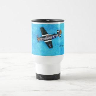 P-51 Mustang Stainless Steel Travel Mug