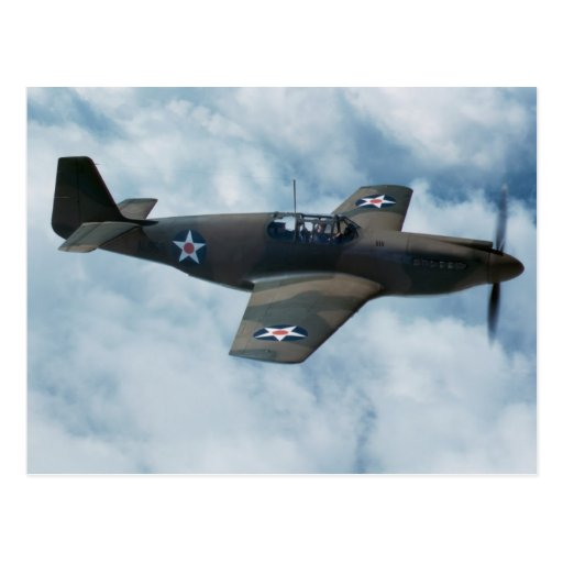 P-51 Mustang Post Cards