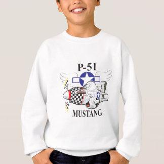 p-51 mustang sweatshirt