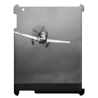 P-51 Mustang takeoff in storm Case For The iPad