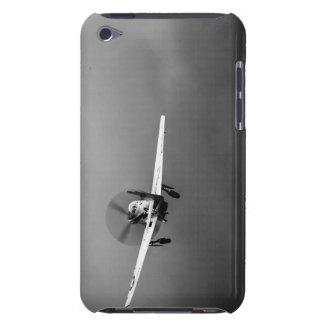 P-51 Mustang takeoff in storm iPod Case-Mate Cases
