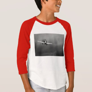 P-51 Mustang takeoff in storm T-Shirt