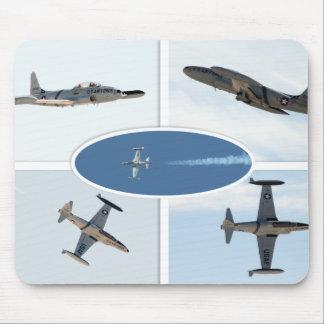 P-80 Shooting Star 5 Plane Set Mousepads