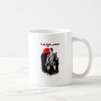 P.B.Soldier Basic White Mug