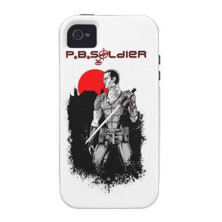 P.B.Soldier iPhone 4/4S Cases