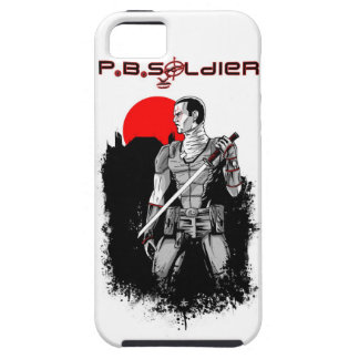 P.B.Soldier iPhone 5 Cases