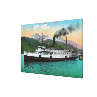 P C Co s Steamer City of Seattle Canvas Prints