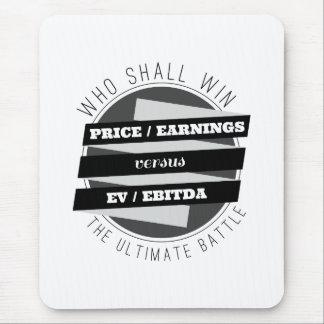 P/E Ratio versus EV/EBITDA Ratio Mouse Pad