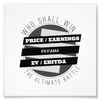 P/E Ratio versus EV/EBITDA Ratio Photo