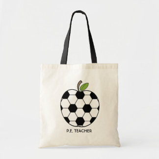 P.E. Teacher Bag - Soccer Ball Apple