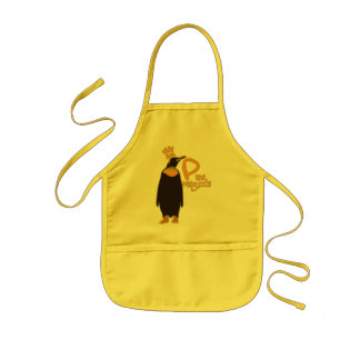 P for Penguin Kids Apron
